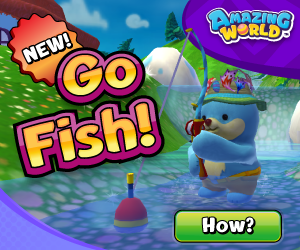 New in Amazing World: Fishing!