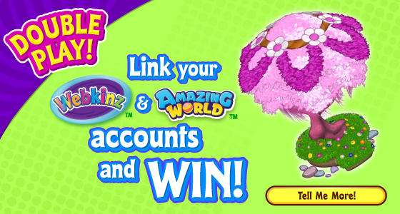 Link Your Webkinz World And Amazing World Accounts For DOUBLE The Fun!