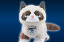 Grumpy Cat Arrives in Webkinz World!